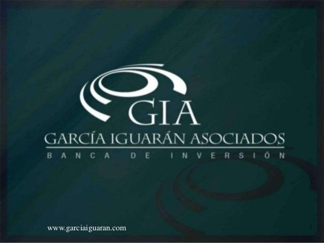 Ing. Silvia R. Iguarán L.www.garciaiguaran.com 1
