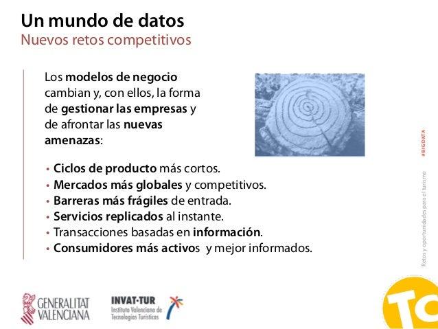 Retosyoportunidadesparaelturismo#BIGDATA Los modelos de negocio cambian y, con ellos, la forma de gestionar las empresas y...