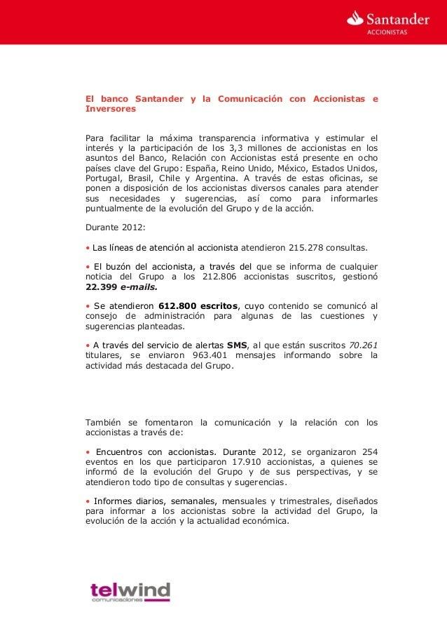 Estudio calidad de la l nea atenci n accionistas - Oficinas de atencion a la ciudadania linea madrid ...