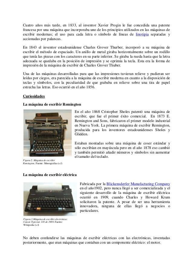 Estudio De Caso Mquina Escribir 638 Cb La Cas Papel