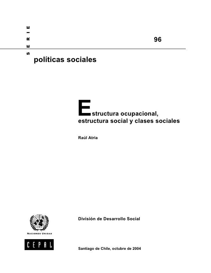 I E                                                       96RES      políticas sociales                  E    structura oc...