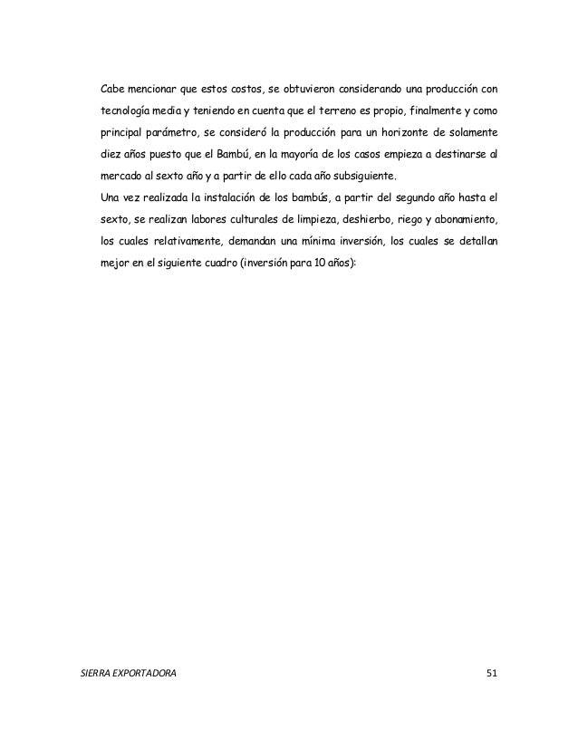 Estudio de factibilidad perspectivas para la industrializacion del ba…
