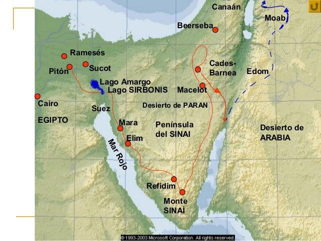 Canaán                                                                  Moab                                            Be...