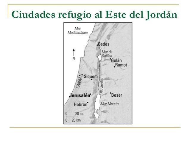 Ciudades refugio al Este del Jordán