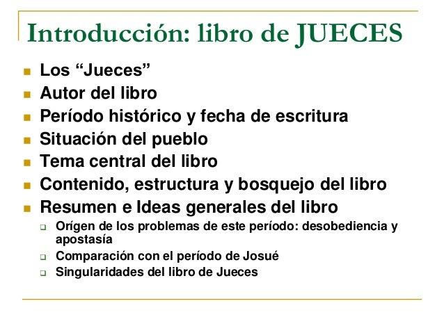 Estudio del libro de jueces Slide 2