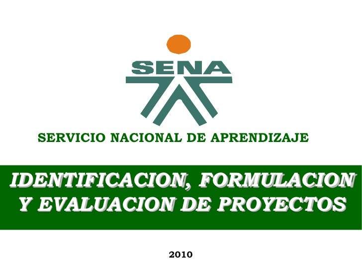 IDENTIFICACION, FORMULACION            IVAN CARLOS BOBADILLA DAZA      Y EVALUACION DE PROYECTOS           Economista, Esp...