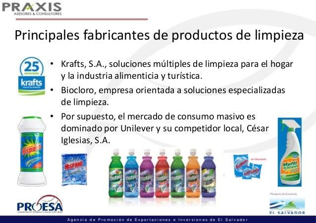 Estudio de mercado rep dominicana canal foodservice e for Empresas de limpieza en oviedo