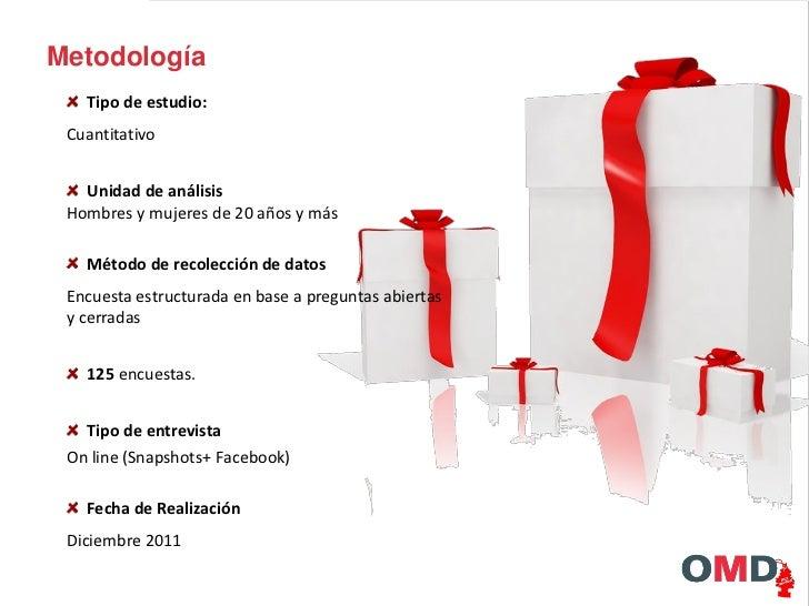 Estudio de navidad 2011   OMD uruguay Slide 2
