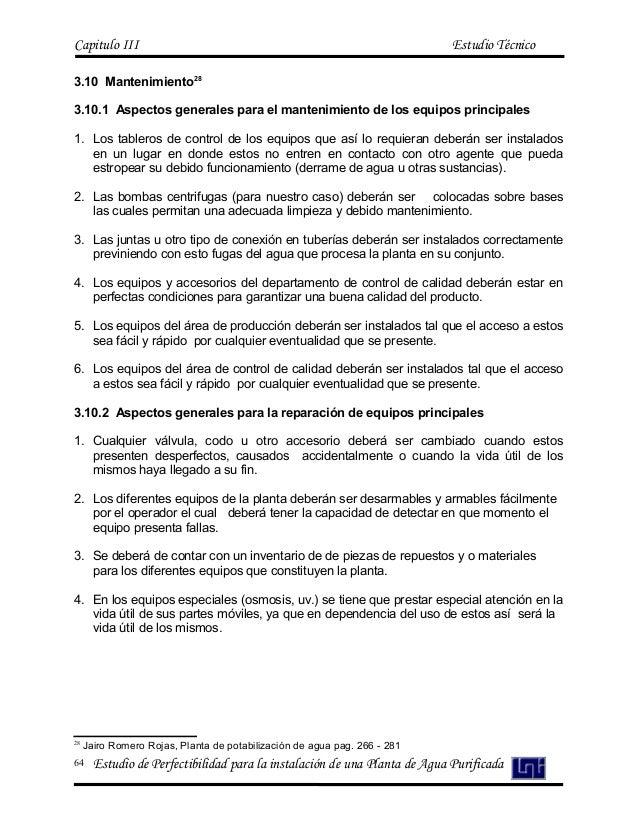 Estudio de prefactivilidad para la istalación de una planta (proyecto)