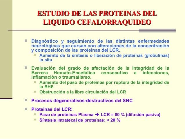 ELECTROFORESIS DE LIQUIDOELECTROFORESIS DE LIQUIDO CEFALORRAQUIDEOCEFALORRAQUIDEO  Para corrimiento en muestras sin dilui...