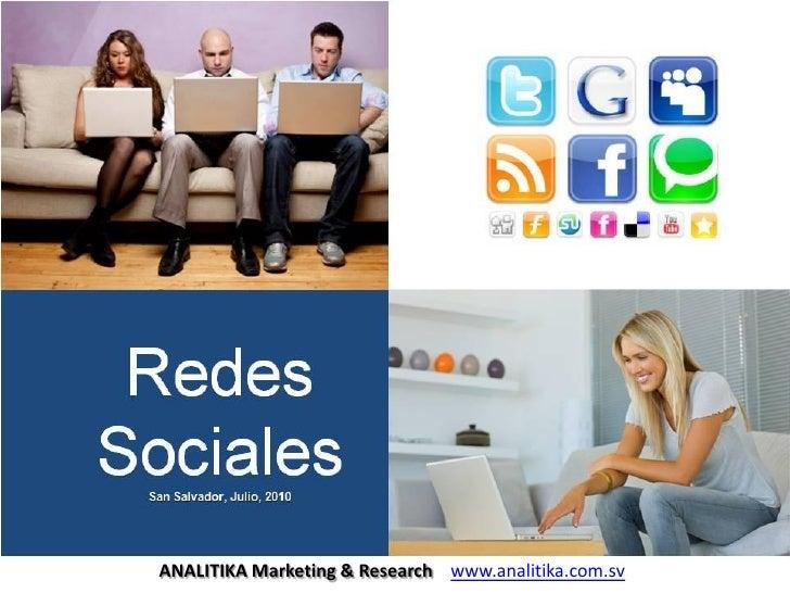 ANALITIKA Marketing & Research www.analitika.com.sv