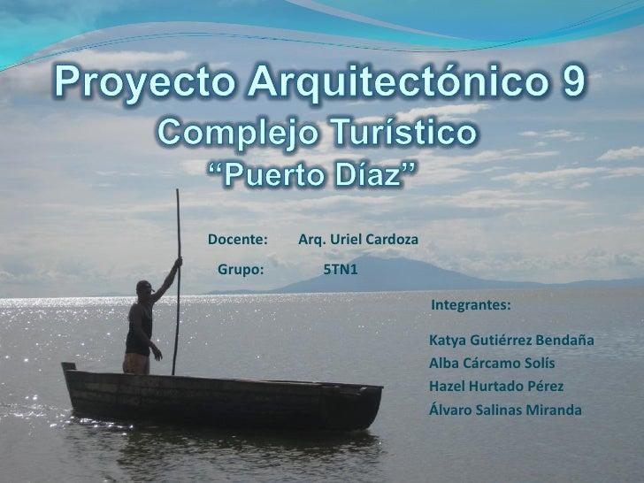 Estudio de sitio Puerto Diaz y Punta Mayales pa9 unies 2009