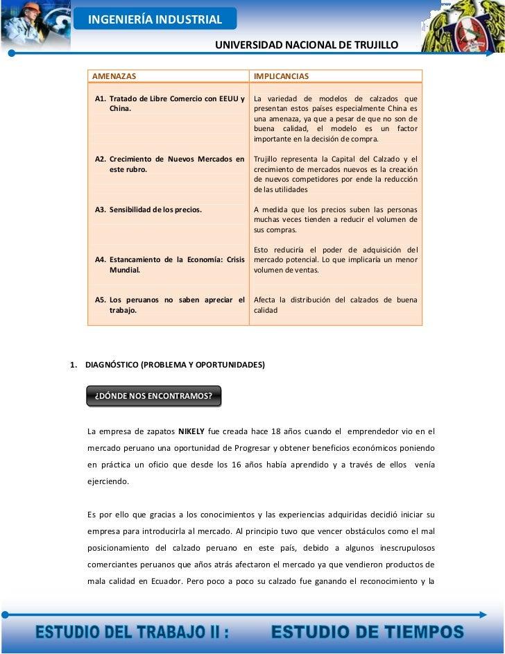 INGENIERÍA INDUSTRIAL                                        UNIVERSIDAD NACIONAL DE TRUJILLO    AMENAZAS                 ...
