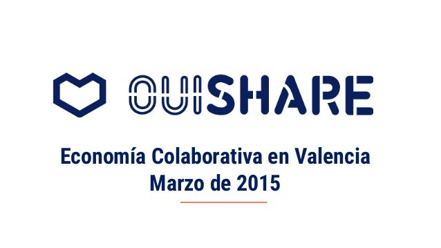 Economía Colaborativa en Valencia Marzo de 2015