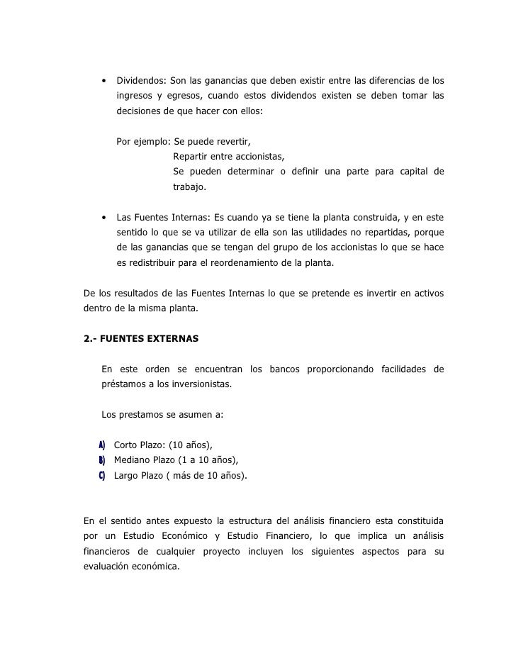 A) L a Competitividad del Mercado, B) La Capacidad Financiera de la Empresa, C) La Condición Económica Social y perspectiv...