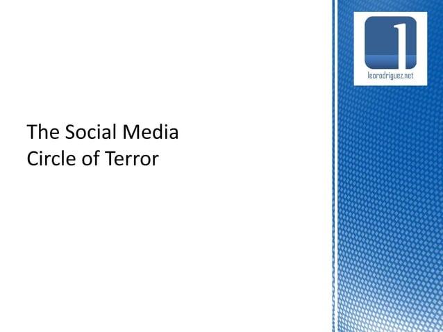 The Social Media Circle of T(rial and )Error 'Hay que estar, nuestra competencia ya está' 'Ya estamos twitteando y poniend...