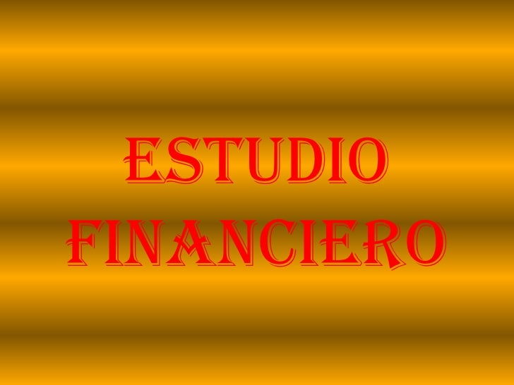 Estudiofinanciero<br />