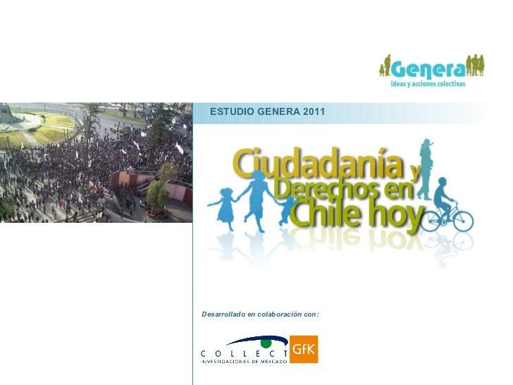 Desarrollado en colaboración con:  ESTUDIO GENERA 2011