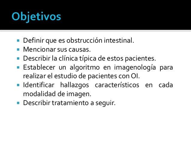 Estudio imagenológico de obstrucción intestinal Slide 2