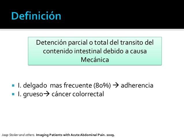 Estudio imagenológico de obstrucción intestinal Slide 3