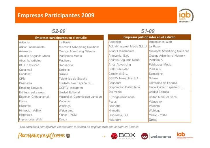 EmpresasParticipantes2009                          S2-09                                                                ...
