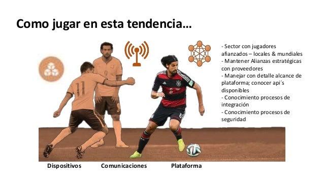 PlataformaDispositivos Comunicaciones - Sector con jugadores afianzados – locales & mundiales - Mantener Alianzas estratég...