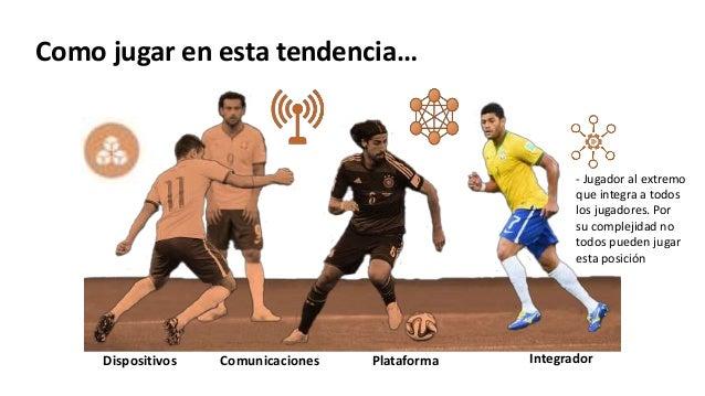 IntegradorPlataformaDispositivos Comunicaciones - Jugador al extremo que integra a todos los jugadores. Por su complejidad...