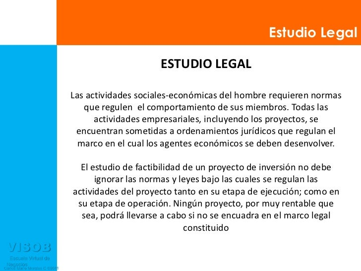 estudio legal presentacion