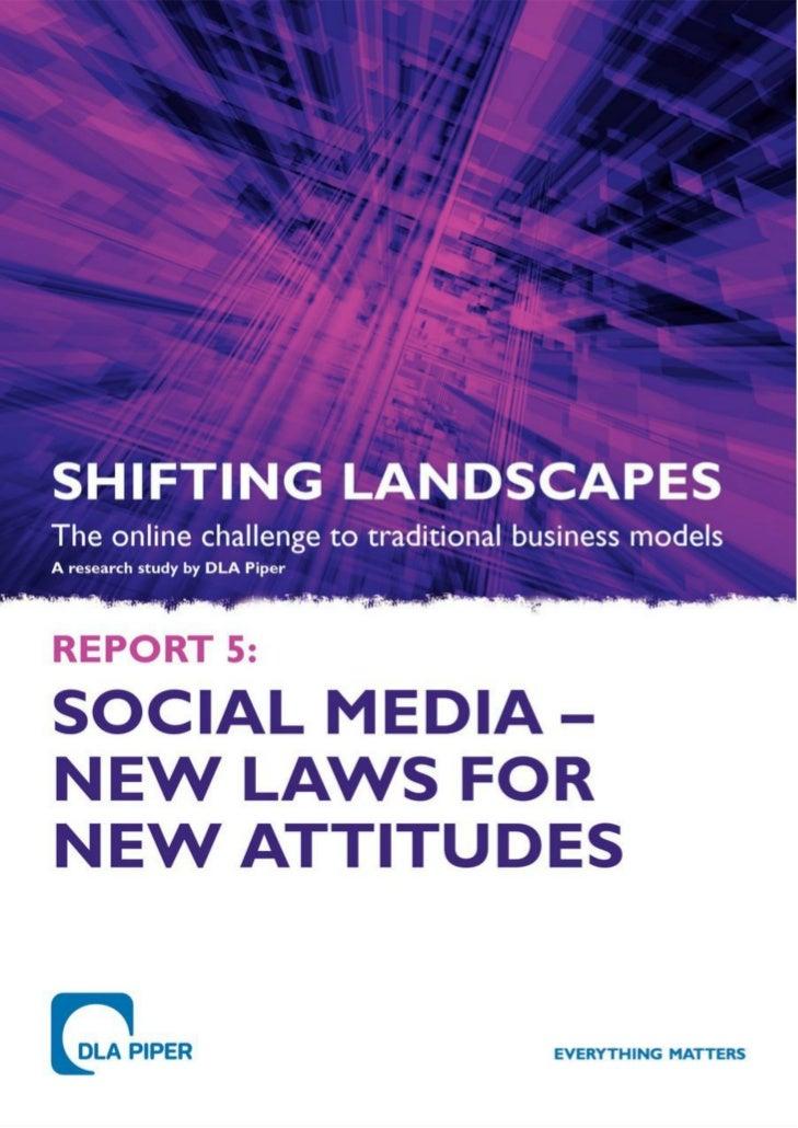 Leyes en Redes Sociales