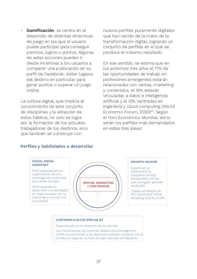 39 Ventas, marketing y contenidos • Social media assistant: perfil especializado en la generación de una estrategia de co...