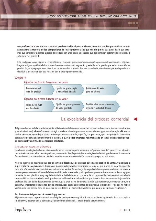 [ 13 ] ¿CÓMO VENDER MÁS EN LA SITUACIÓN ACTUAL? una perfecta relación entre el concepto producto-utilidad para el cliente,...