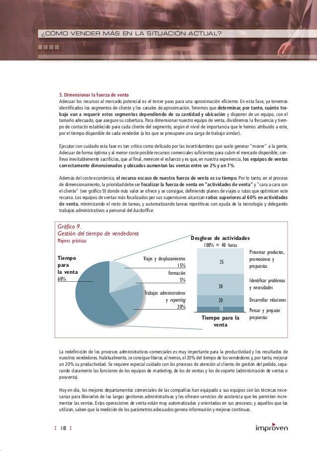 [ 18 ] ¿CÓMO VENDER MÁS EN LA SITUACIÓN ACTUAL? 3. Dimensionar la fuerza de venta Adecuar los recursos al mercado potencia...