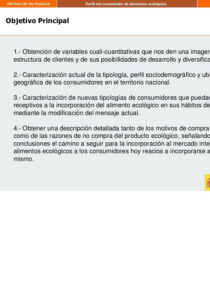 Estudio perfil consumidor ecologico por Tomas Camarero Arribas Slide 3