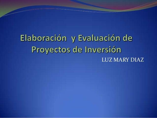 LUZ MARY DIAZ