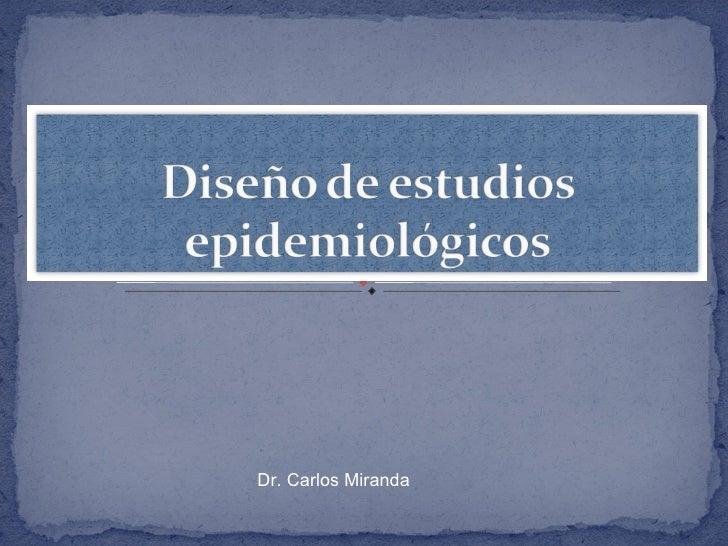 Dr. Carlos Miranda