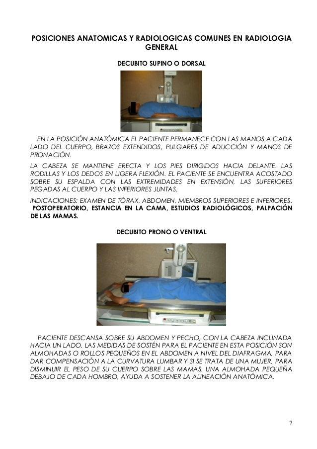 ESTUDIOS CONTRASTADOS PROCEDIMIENTO Y PROYECCIONES RADIOLOGICAS