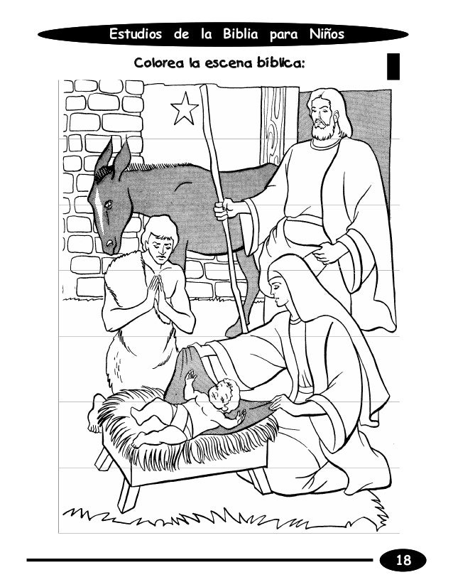 Estudios de la biblia para ninos alumno