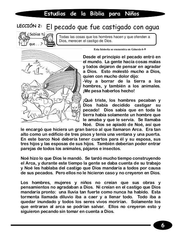 Well-known Estudios de la biblia para ninos alumno DG37