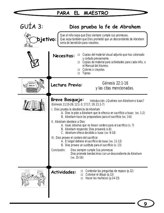 Estudios de la biblia para ninos maestro