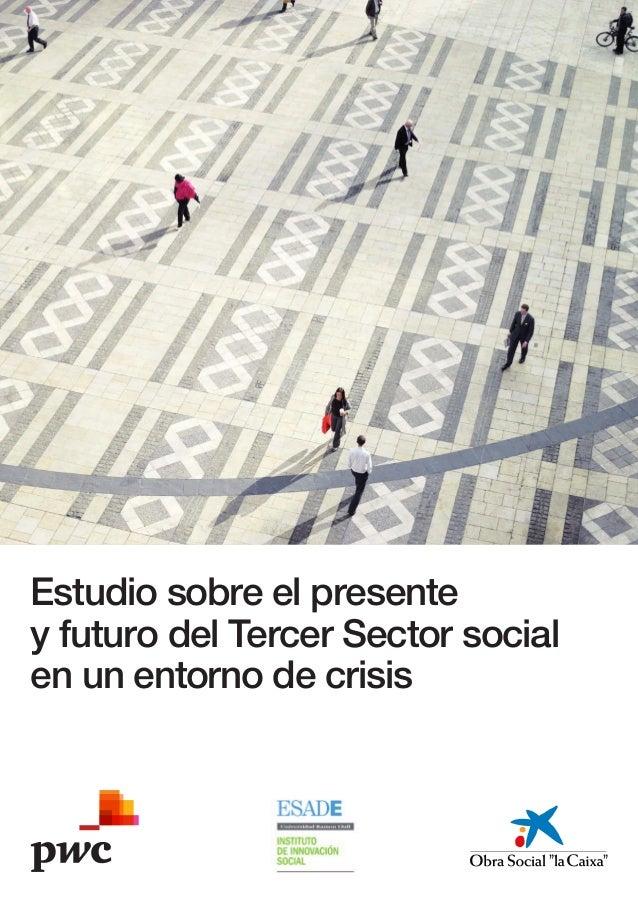 Estudio sobre el presentey futuro del Tercer Sector socialen un entorno de crisis