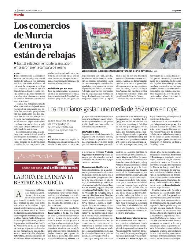 Loscomerciosdelaasociación Murcia Centro colgaron ayer el cartel de 'rebajas'. Por primera vez han decidido adelantar el i...