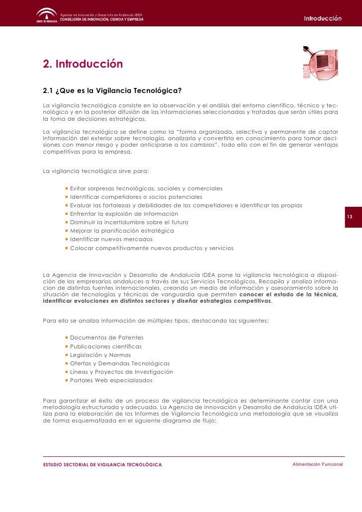 2.1.1 El valor de la Información Tecnológica y Científica    La vigilancia tecnológica se ocupa del monitoreo de las tecno...