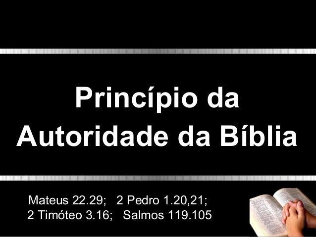 Qual o princípio da interpretação da Bíblia? R = Jesus Cristo, apresentado no Novo Testamento. João 1.1,2,14; Hebreus 1.1-...
