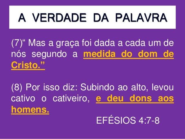 Estudo biblico 23  dons espirituais - part1 Slide 3