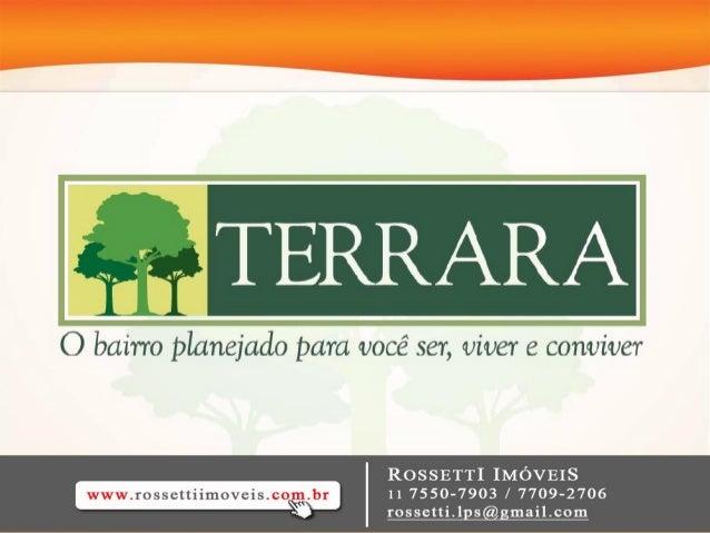 TERRARA APARTAMENTOS – 57 A 74M²AV. INTERLAGOS                                  AV. MIGUEL YUNES                          ...