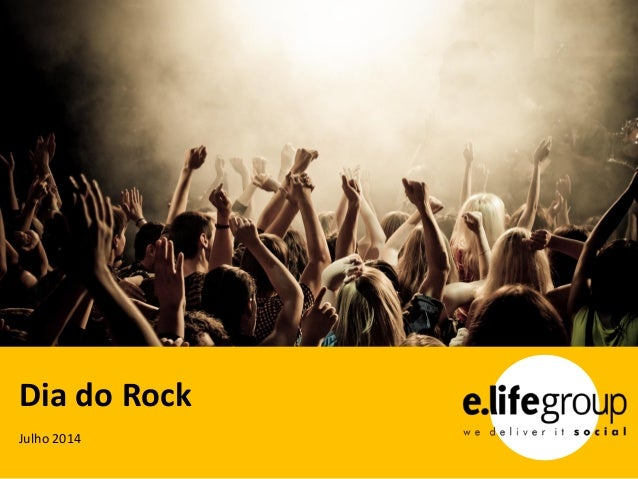 Julho 2014 Dia do Rock