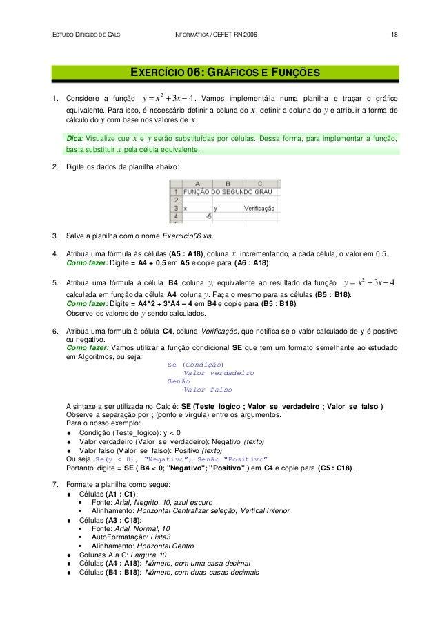Estudo dirigido 2º ano