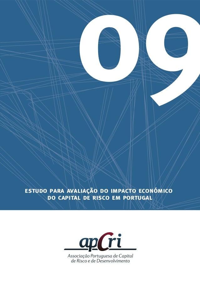estudo para avaliação do impacto económico do capital de risco em portugal