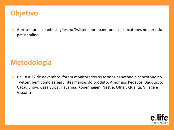 Análise do Twitter pré-Natal sobre Panetone e Chocotone Slide 2