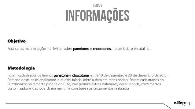 Estudo Panetone/Chocotone Slide 2